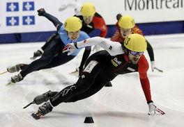 短道速滑世界杯,加拿大斩获男500米金牌