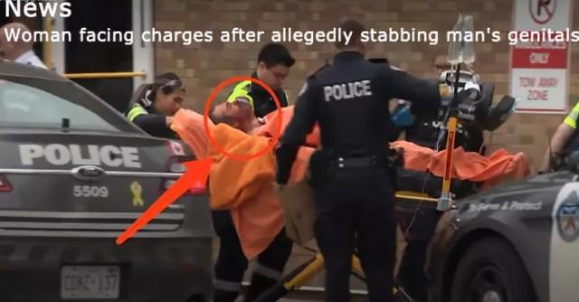 """加拿大女子割断男人""""命根子""""后,从7楼跳下…结果活着"""